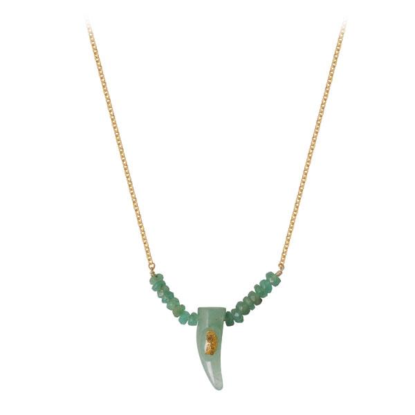 collier corne lsonge bijoux