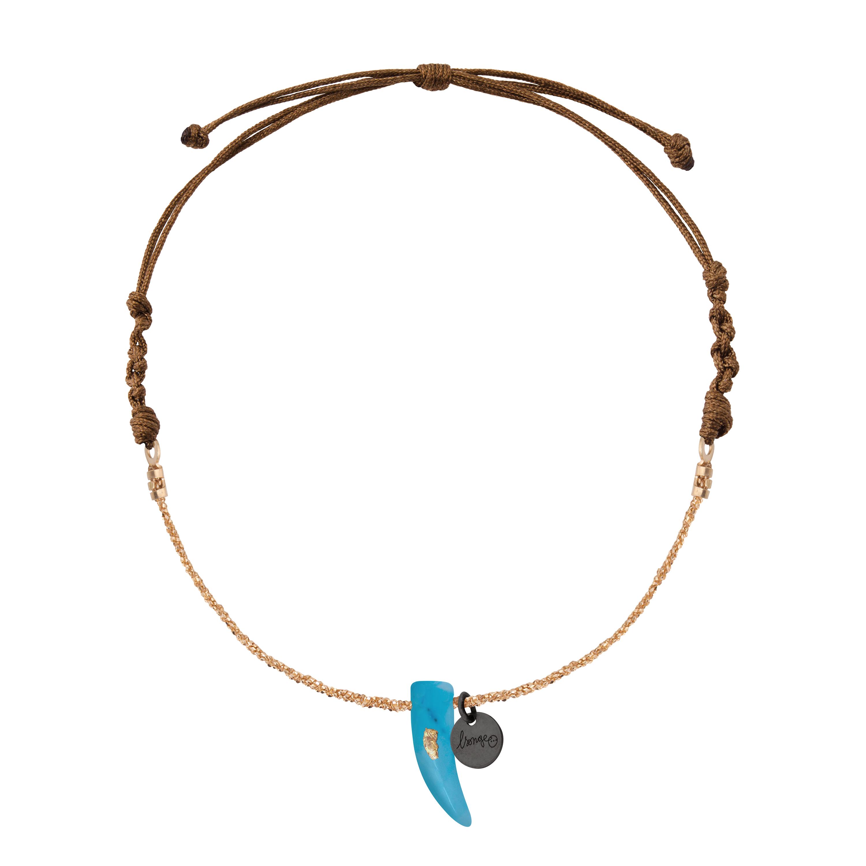 bracelet cordon femme or