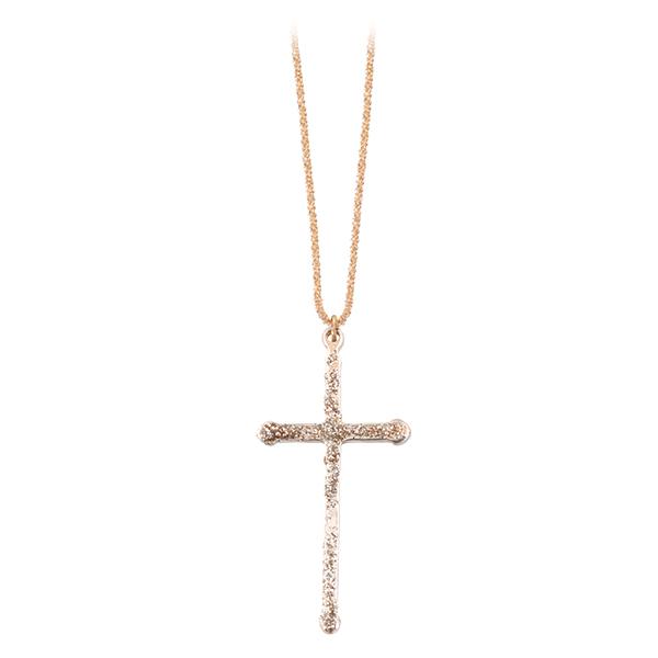 collier croix lsonge bijoux
