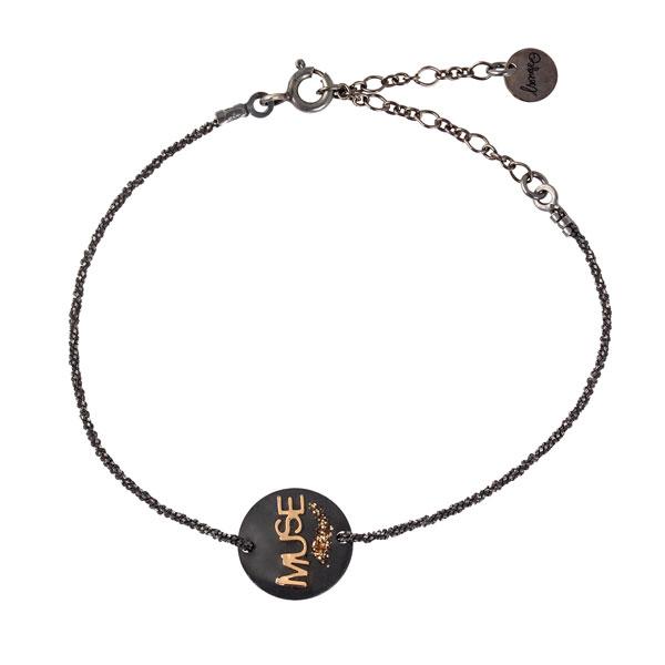 bracelet femme avec medaille fait main