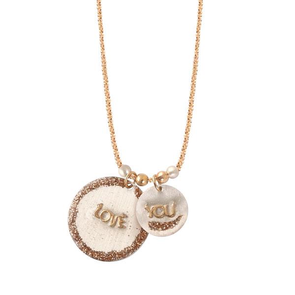 collier médaillon lsonge bijoux