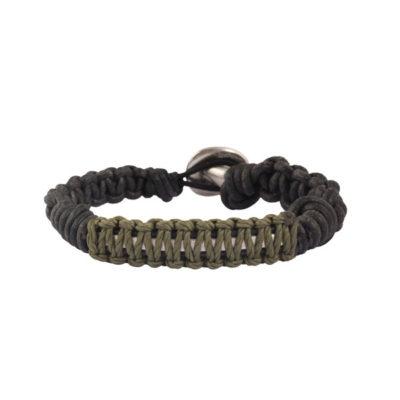 bracelet homme cordon macramé
