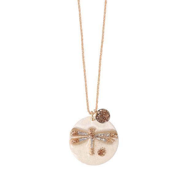 collier pendentif libellule