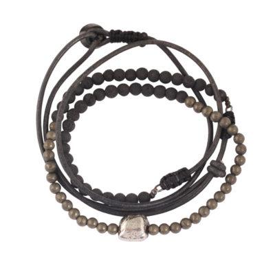 bracelet perles homme