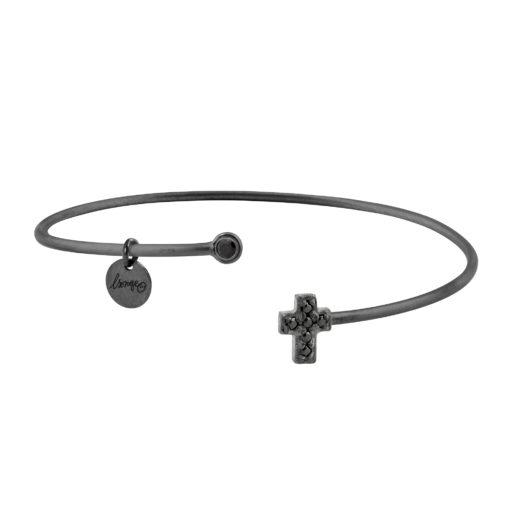 bijoux jonc noir pour femme