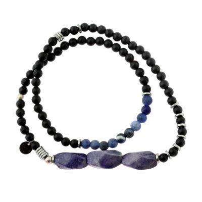 bracelet homme en pierres naturelles