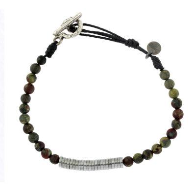 bracelet pierres naturelles homme