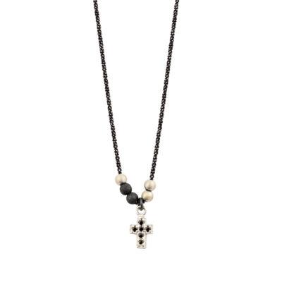 collier ras de cou femme croix