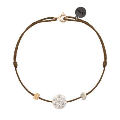 bracelet femme cordon et soleil