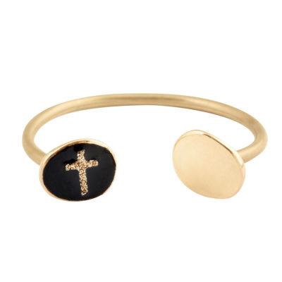bijoux jonc femme avec croix