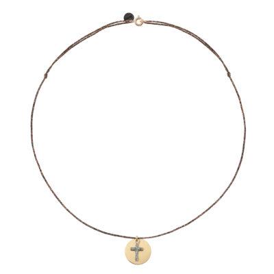bijoux créateur pendentif croix