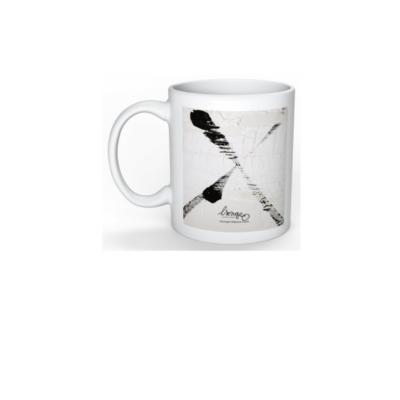 mug blanc tendance