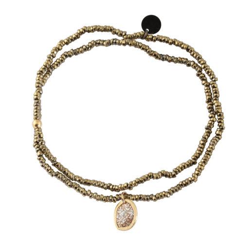 creation bijoux pierre hematite