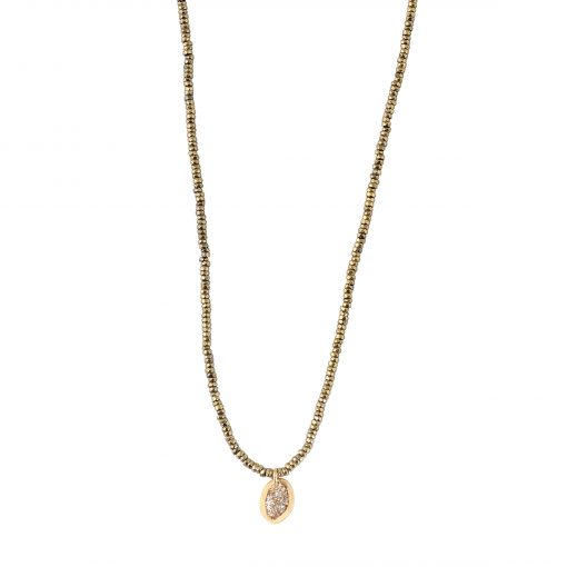 collier ras de cou pierre naturelle