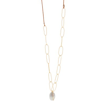 collier sautoir anneaux