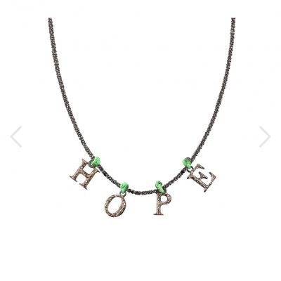 collier hope argent