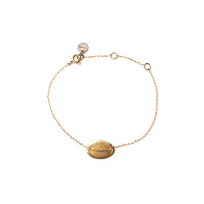 bracelet fin doré femme