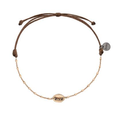 bracelet cordon femme argent et cuir