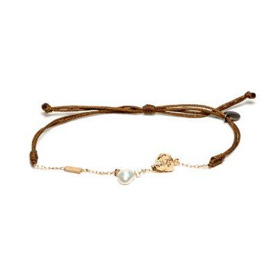 Bracelet chaine et cordon
