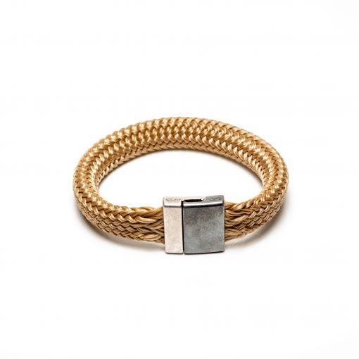 bracelet cordage XL fermoir métal
