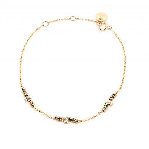bracelet stone sublime kaki
