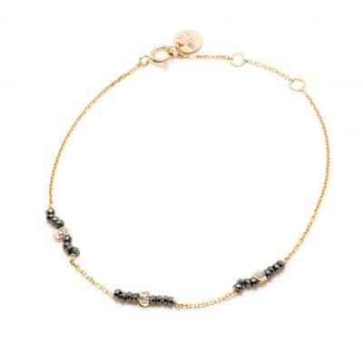 bracelet stone sublime noir