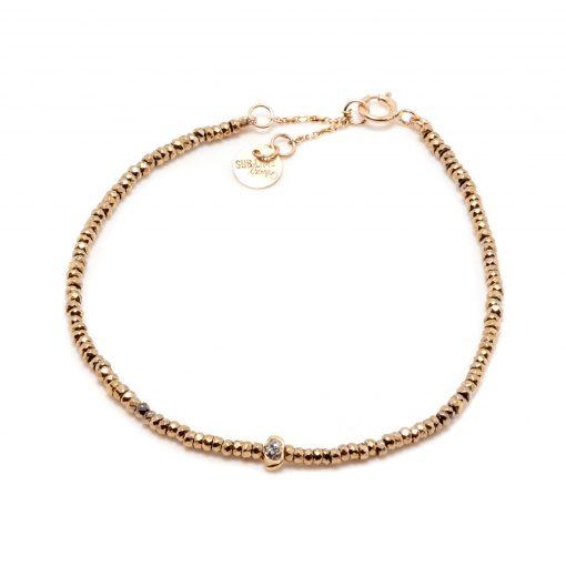 bracelet stone kaki