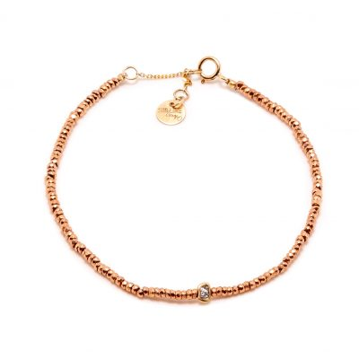 Bracelet stone rose