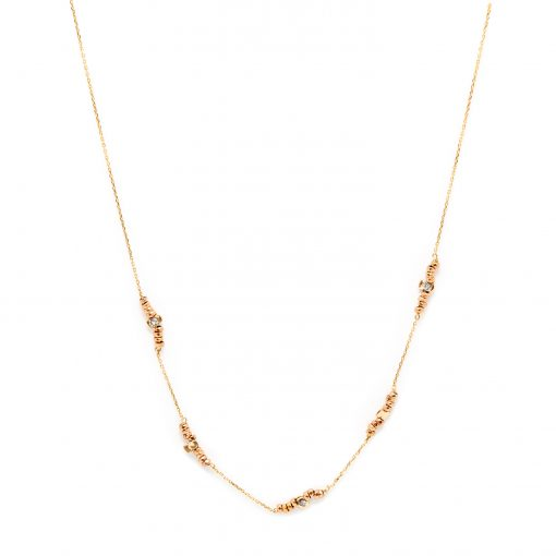 Collier stone sublime rose
