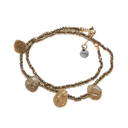 bracelet double minéral