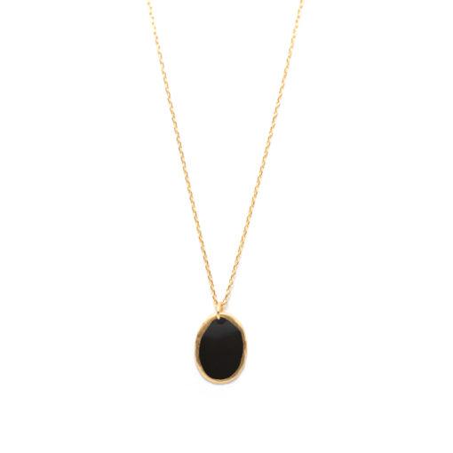 Collier Lumy noir