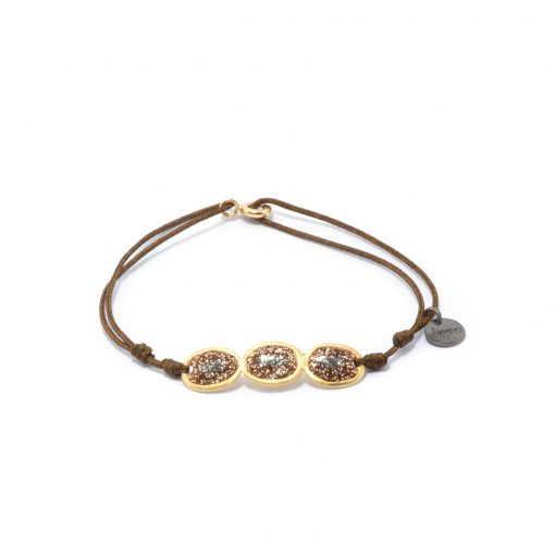 Bracelet cordon Éclat