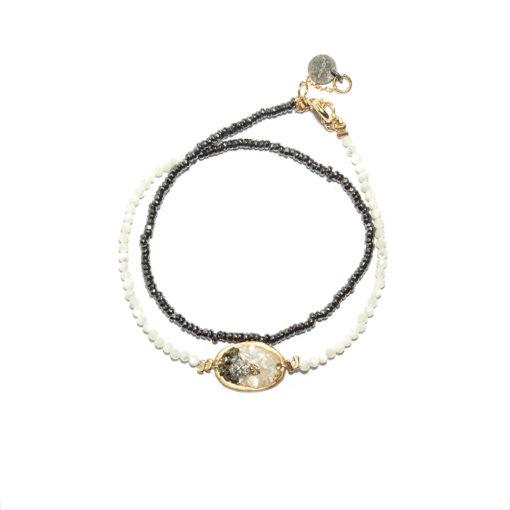 Bracelet double tour Lakota
