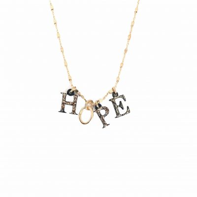 Collier message espoirs hope
