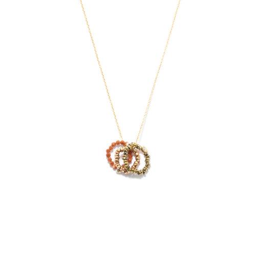 Necklace Cercle Trio