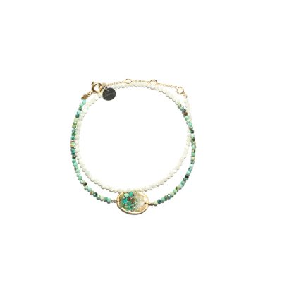 Bracelet double tour Lakota