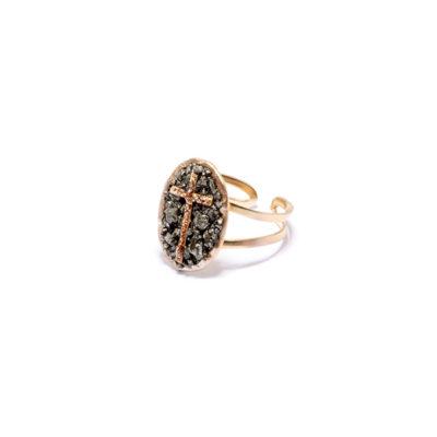 medium ring lakstone croix